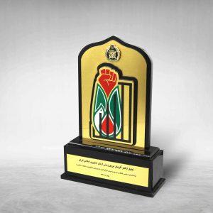تندیس پلکسی فخر آفرینان ارتش
